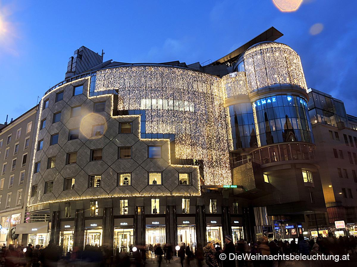 Weihnachtsbeleuchtung Haus